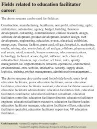 ... 16. Fields related to education facilitator ...