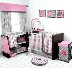 nursery decor sets pink and gray elephant baby bedding ikea nursery room sets
