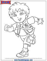 Small Picture Free Printable Go Diego Go Coloring Pages H M Coloring Pages