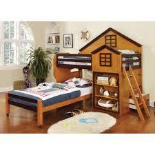 oak bedroom sets wayfair hokku designs stewart house twin loft bed reviews wayfair girl bedroom