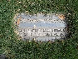 Stella Myrtle Knight Howell (1888-1960) - Find A Grave Memorial