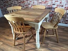 rustic dining table and chairs. Extending Farmhouse Rustic Dining Table Set Drop L On And Chairs Archives E