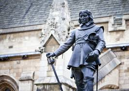 why oliver cromwell have been britain s greatest ever general  statue of oliver cromwell outside the palace of westminster london uk shutterstock
