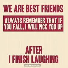 Funny Best Friend Quotes Mesmerizing Funny Best Friends Quote Pictures Photos And Images For Facebook