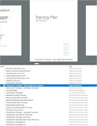 training plan template word training plan template word syncla co