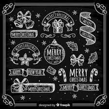 Christmas Chalkboard Vectors Photos And Psd Files Free Download