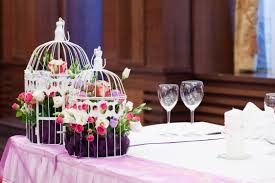 ... Contemporary Wedding Table Accessories And Decoration Using Cute Wedding  Centerpiece : Cozy Picture Of White Wedding ...