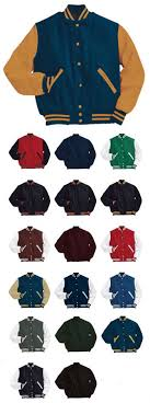Holloway Sportswear Style 224183 Varsity Jacket Smith