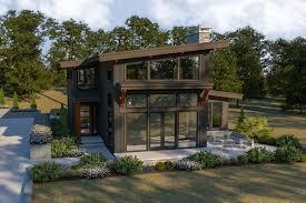 Contemporary Detached Garage Designs Plan 280024jwd Splendid Contemporary House Plan With