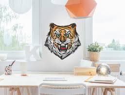 Jugendzimmer Wandtattoo Tiger Für Mädchen Und Jungen I Love