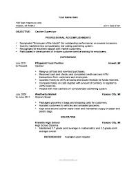 store cashier resume samples