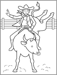 Small Picture FREE Printable Rodeo Coloring Pages great for kids teachers and