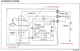 mazda alternator wiring diagram alternator wiring w terminal alternator image the mazda rx 7 86 88 technical page on alternator