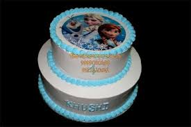 Frozen Theme Birthday Cakes Delivery In Noida Buy Frozen Theme Kids