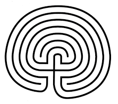 Labyrinth Patterns Custom Decorating