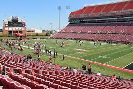 Cardinal Stadium Section 126 Rateyourseats Com