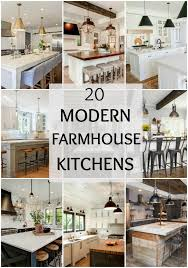 Image Decorating Ideas Tour These 20 Modern Farmhouse Kitchens To Understand How The Farmhouse Style Really Does Work Well Blissful Nest Modern Farmhouse Kitchens For Gorgeous Fixer Upper Style
