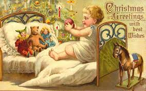 Antique Toys on Free Vintage Christmas Cards - HubPages