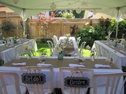 Beautiful Backyard Weddings  Backyard Wedding Photos  Great Backyard Wedding Ideas Pinterest