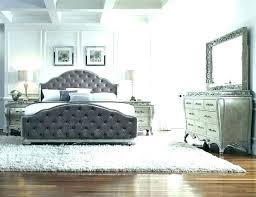 Black Tufted Bed Velvet Tufted Headboard Grey Black Quilted ...