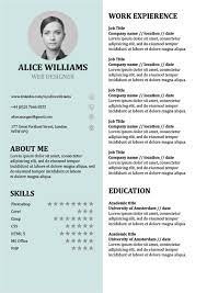 +60 professional cv templates fully editable for job application. Cv Templates Doc Free 6 Templates Example Templates Example Resume Template Word Resume Template Professional Cv Template