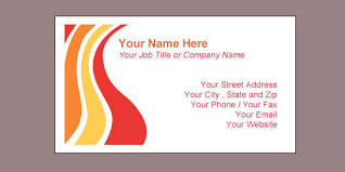 Business Card Format Word Korest Jovenesambientecas Co