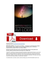 PDF] Book Download Extraterrestrial: The First Sign of Intelligent Life  Beyond Earth by Avi Loeb by sivliae222 - issuu