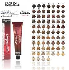 Loreal Hair Dye Chart Inspirational Loreal Majirel Hair Color Chart Pics Of Hair