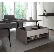 marble lift top coffee table awesome bestar small space 37 inch lift top storage coffee