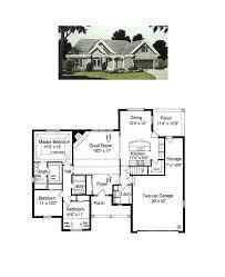 one level open floor house plans unique ranch open floor plans plan 430 91 houseplans homes