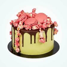 Japanese Matcha Sakura Cake Anges De Sucre