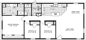manufactured home floor plan the imperial model imp 2541a 3 bedrooms
