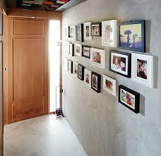 how to hang pictures on your concrete wall