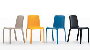 stylish plastic dining chairs