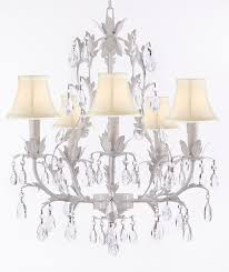 a7 shades 407 5 wrought iron chandelier chandeliers crystal chandelier crystal