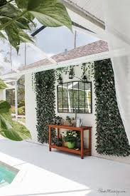 blank patio turned plant filled retreat