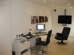 convert garage into office. Photograph Of Bill Jangra\u0027s Converted Garage Into A Home Office. Convert Office E