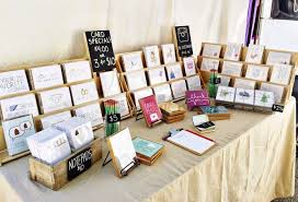 Second Hand Greeting Card Display Stand Mesmerizing Great Greeting Card Display For Craft Fairs Julie Ann Art Craft