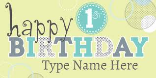 1st birthday banner first birthday party ideas themes games more signs com