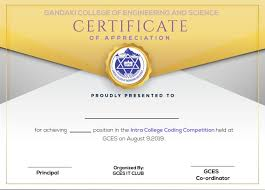 Amit31 I Will Design Achievement And Participation Certificates For 5 On Www Fiverr Com