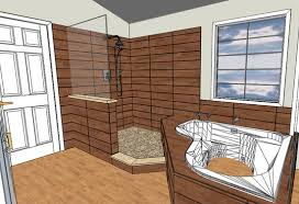 Image of: Doorless Shower Design Pictures Plans