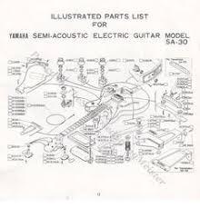 yamaha sa 20 sa 30 sa 50 sa 70 wiring diagram page 16 of 1979 sa 30 yamaha guitar booklet page 12 illustrated