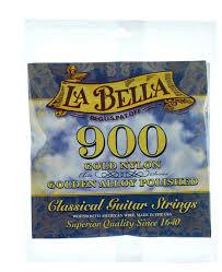 La Bella String Tension Chart La Bella 900 Elite Gold Nylon