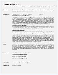 Sample Resume Mechanical Engineer Objective for Resume for Mechanical Engineers globishme 86
