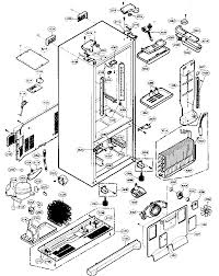 refrigerator diagram parts refrigerator image refrigerator diagram parts refrigerator auto wiring diagram on refrigerator diagram parts