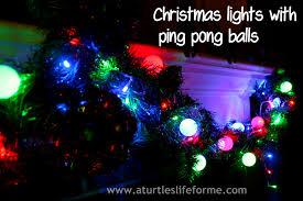 ping pong lighting. DIY Christmas Lights With Ping Pong Balls Lighting