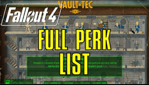 Fallout 4 Perk Chart How You Build A Best Perk Chart In