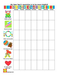 Apartment Chore Chart These Free Printable Chore Charts For Kids Will Help Motivate Your