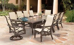 fire pit dining table sets costco