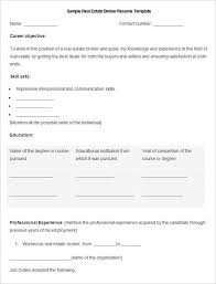 Sample Real Estate Broker Resume Template Write Your Resume Much Best Is Resume Help Really Free